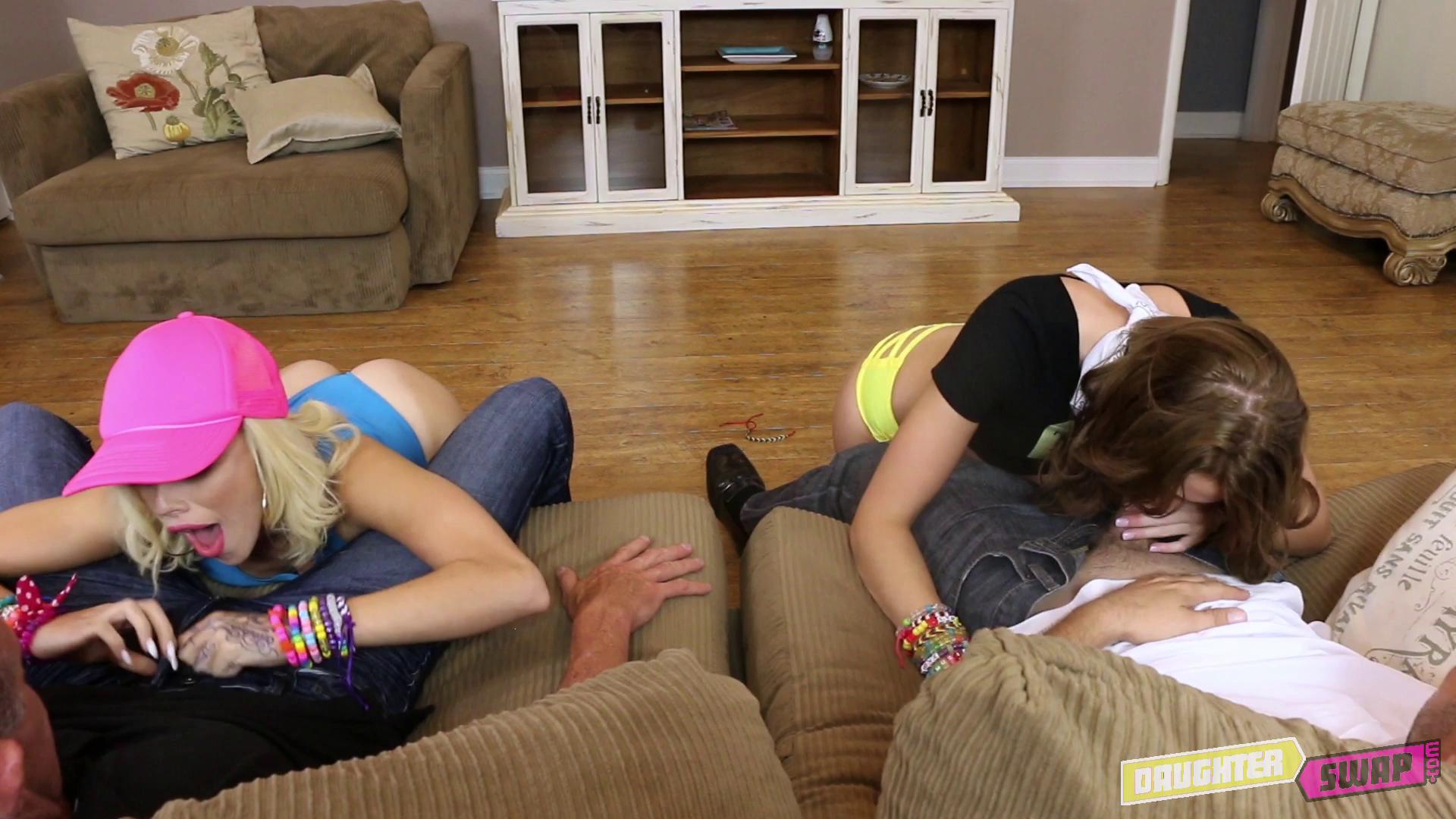 DaughterSwap – Alyce Sage And Kimberly Moss