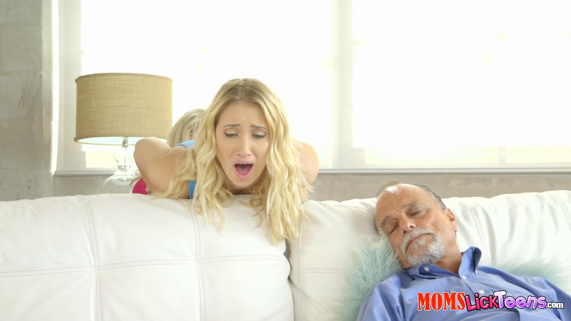 MomsLickTeens – Cory Chase And Sierra Nicole Dont Wake Him