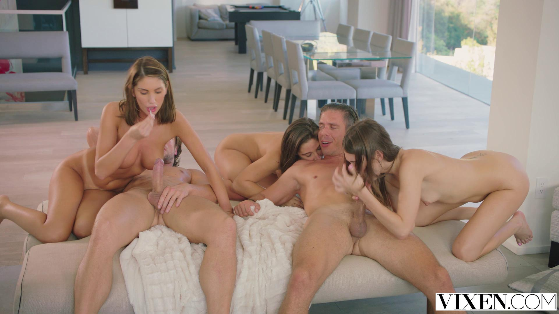 Vixen – Riley Reid August Ames And Abella Danger