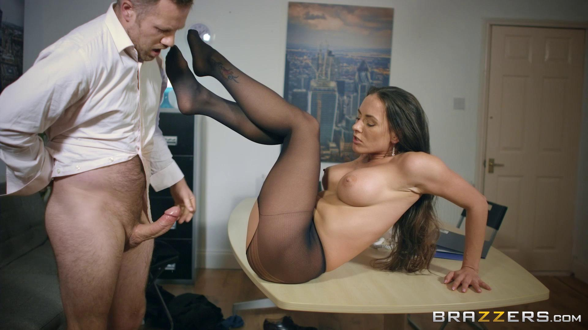 BigTitsAtWork – Mea Melone Under The Table Deal