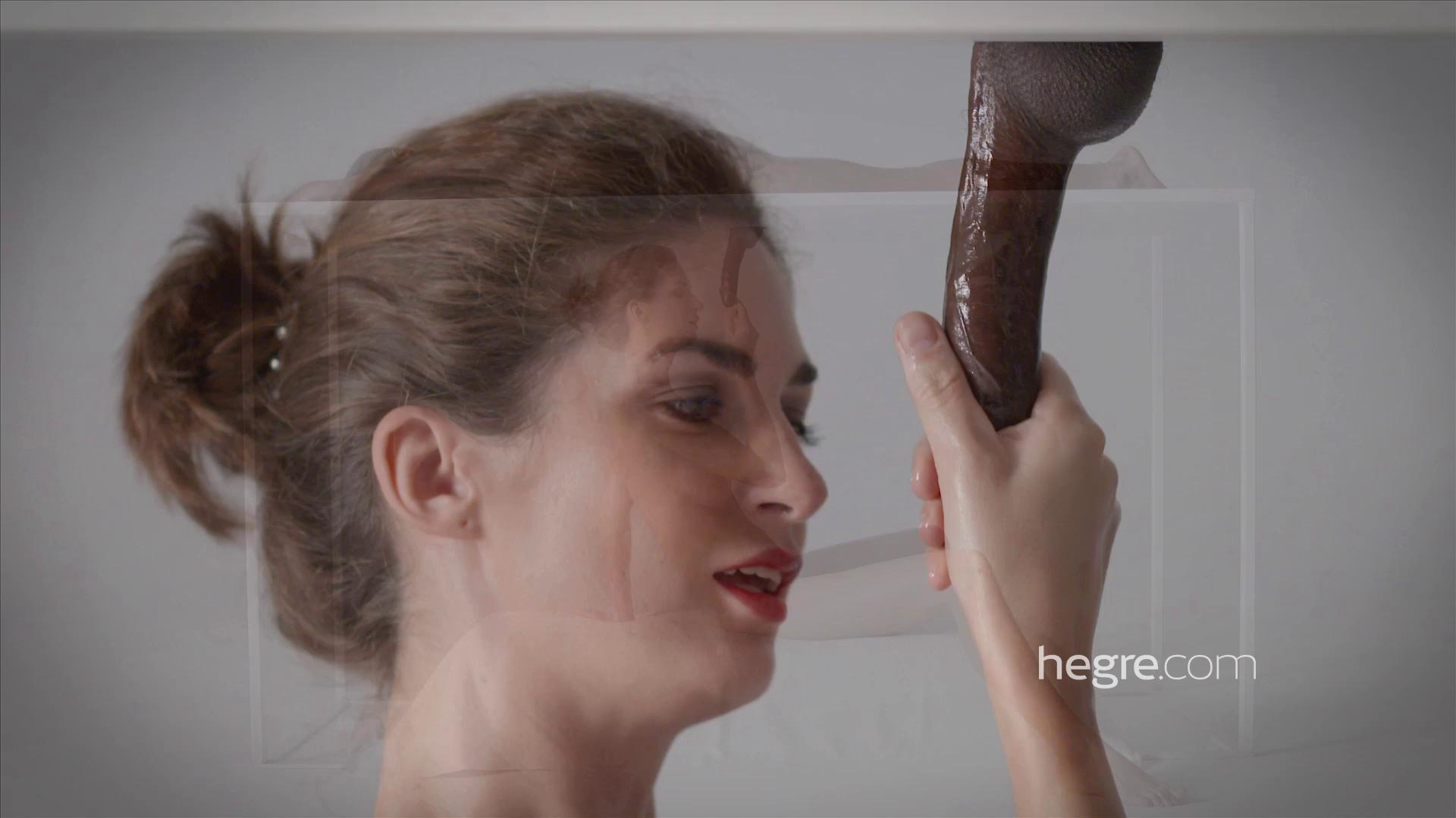 Hegre – Charlotta Glory Hole Table Massage