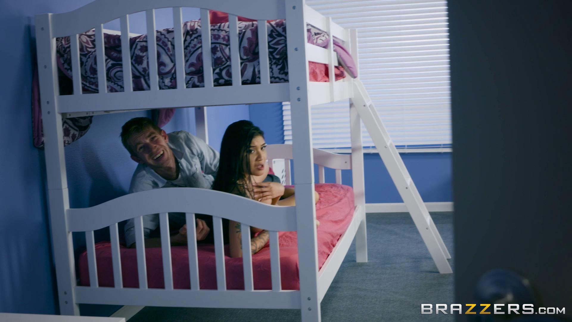 BigTitsAtSchool – Brenna Sparks Bunk Bed And Bang