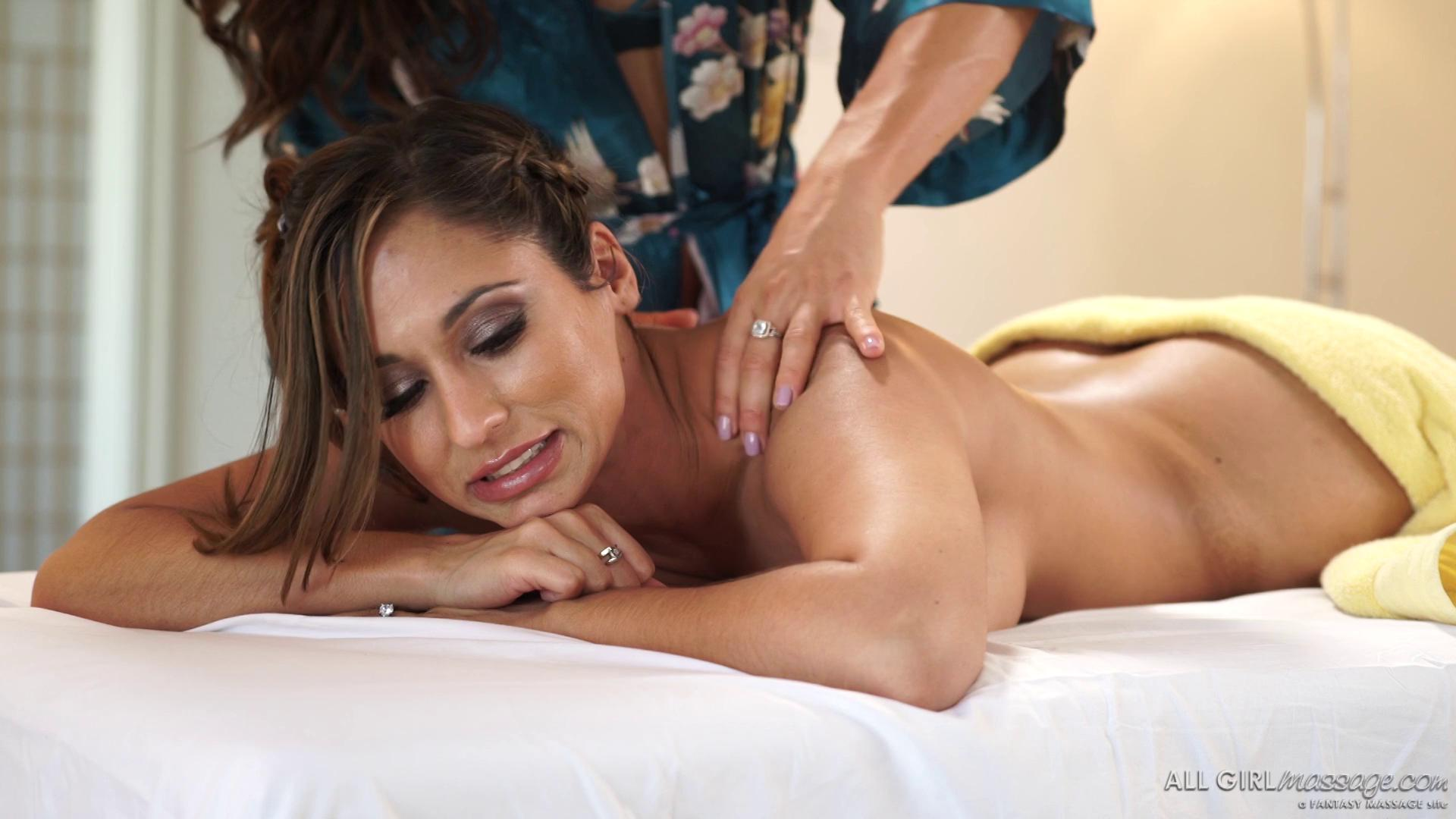 AllGirlMassage – Aspen Rae And Reena Sky The Come Out Special