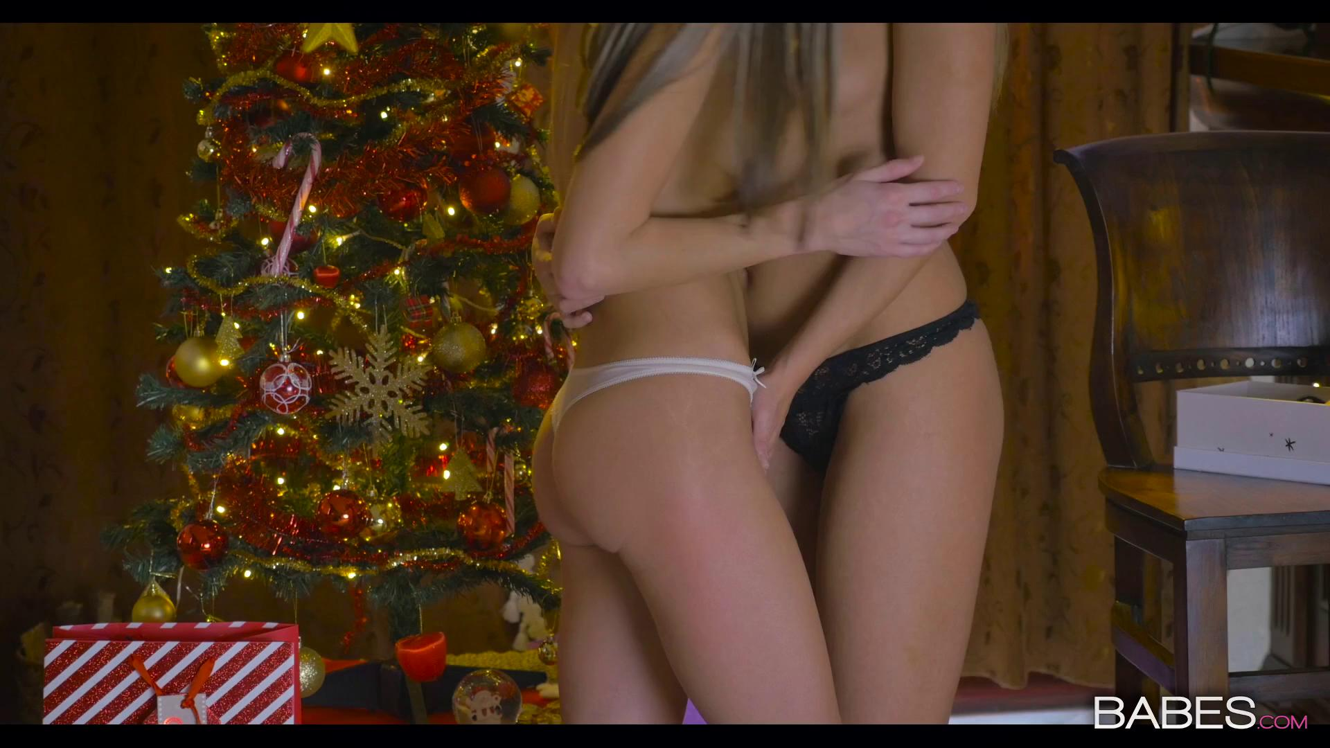 Babes – Blue Angel And Gina Gerson All I Want For Christmas Is You