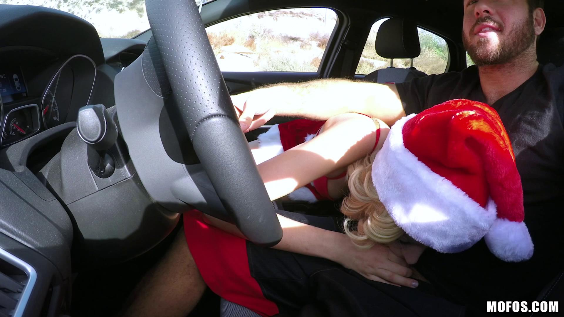 StrandedTeens – Haley Reed Haley The Horny Christmas Hitchhiker