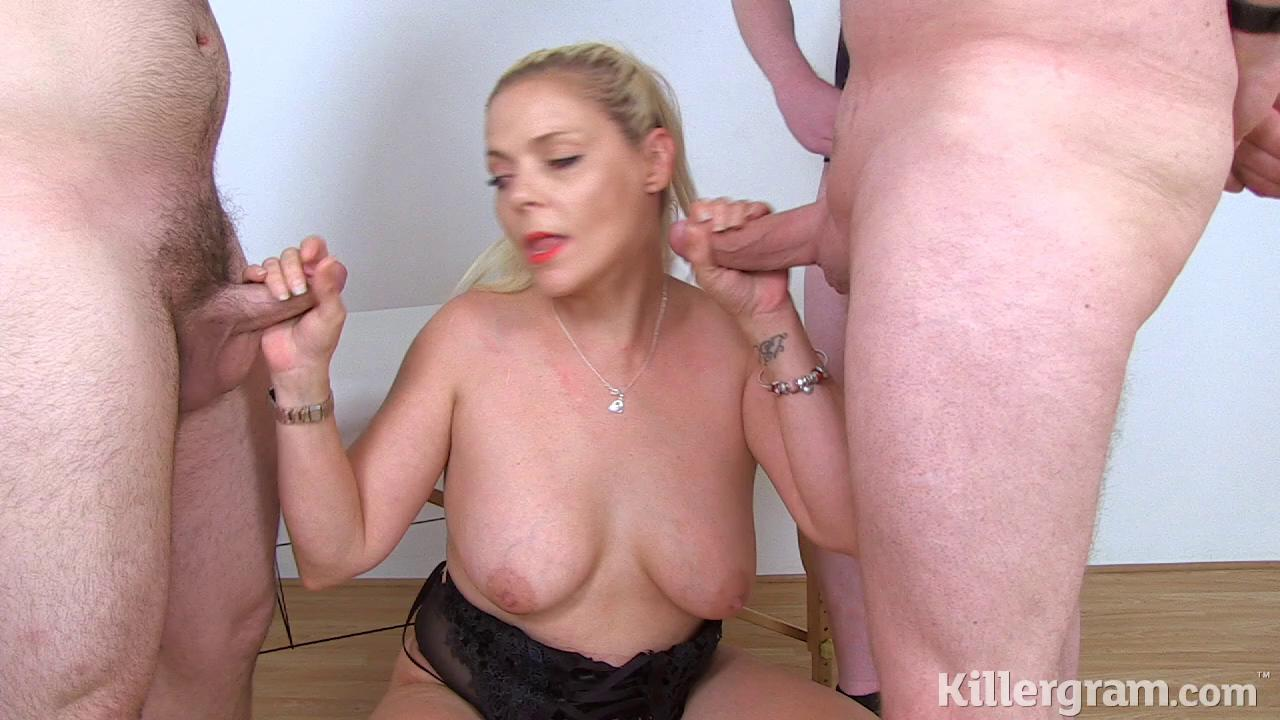 Killergram – Angie Hotbox Cum Craving Blonde