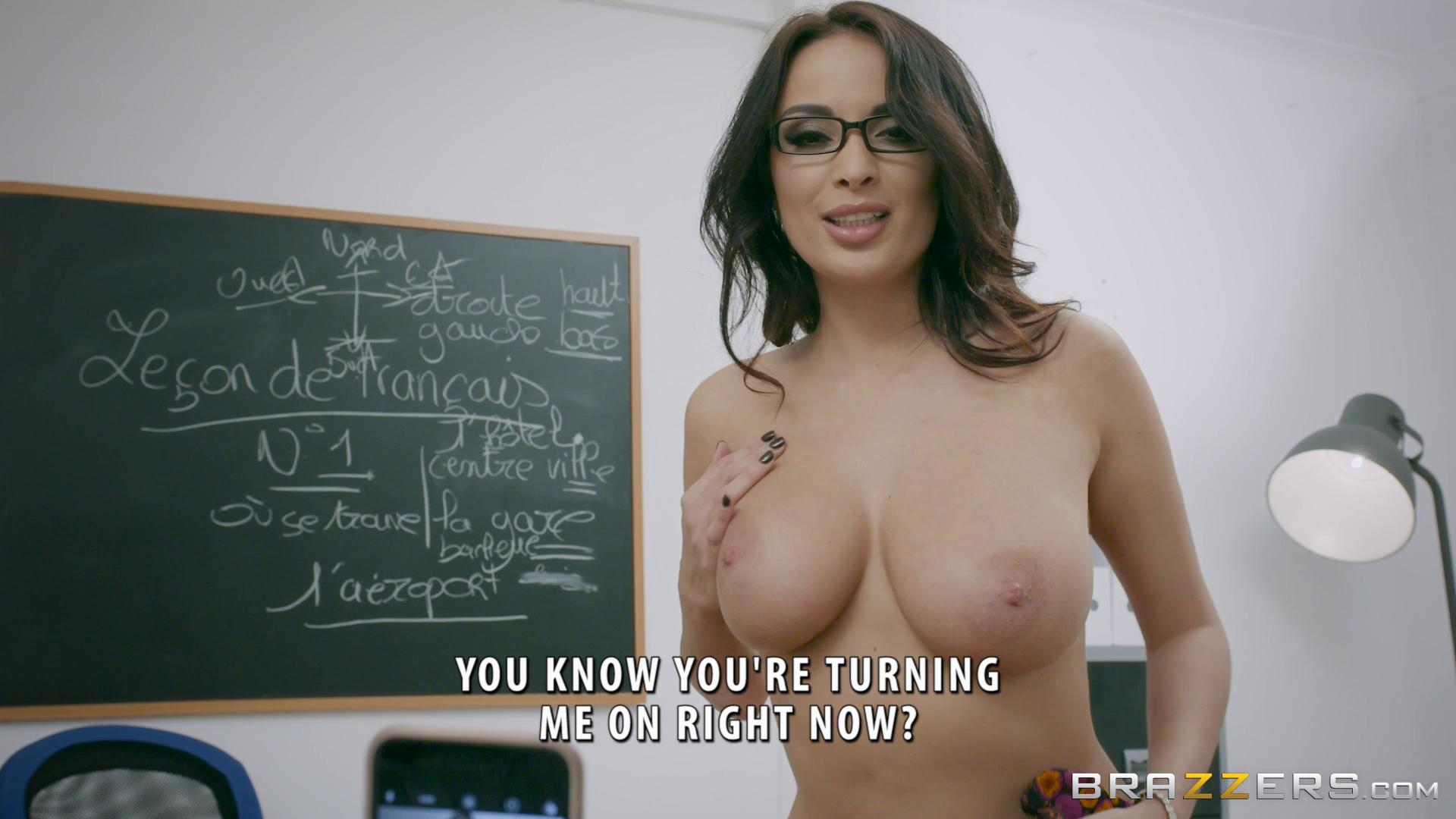 BigTitsAtSchool – Anissa Kate Romance Languages