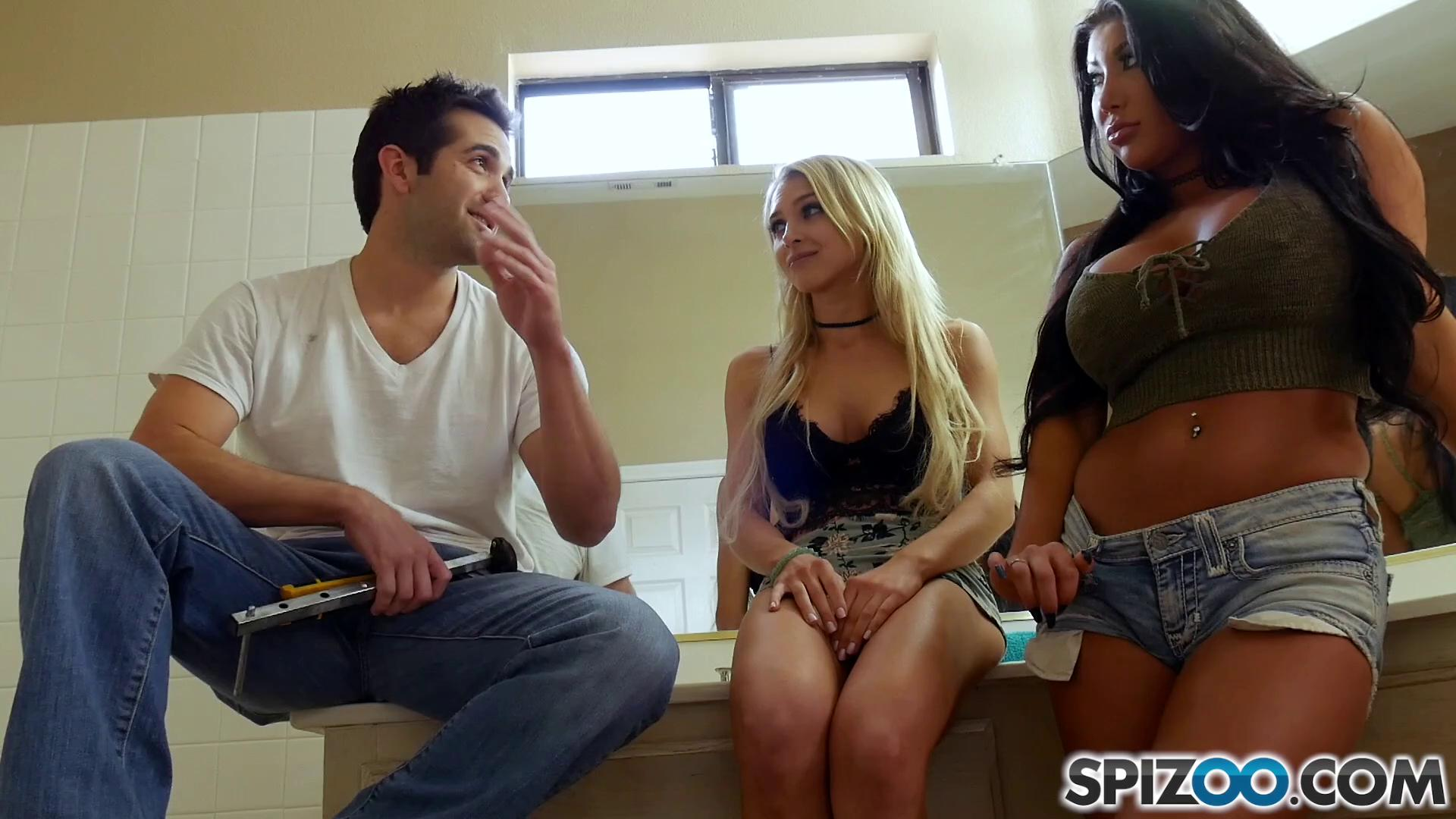 Spizoo – Alix Lynx And August Taylor Donnie Hot Line