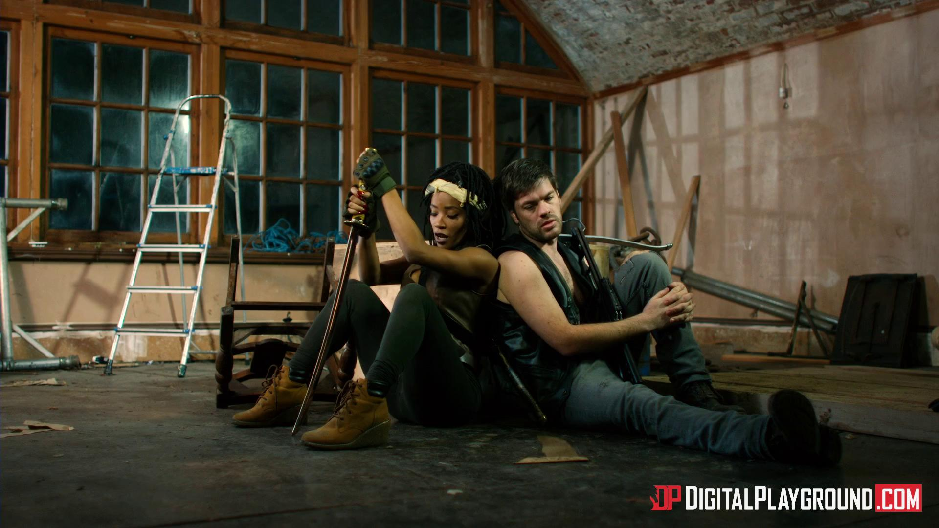DigitalPlayground – Kiki Minaj The Walking Dead A XXX Parody