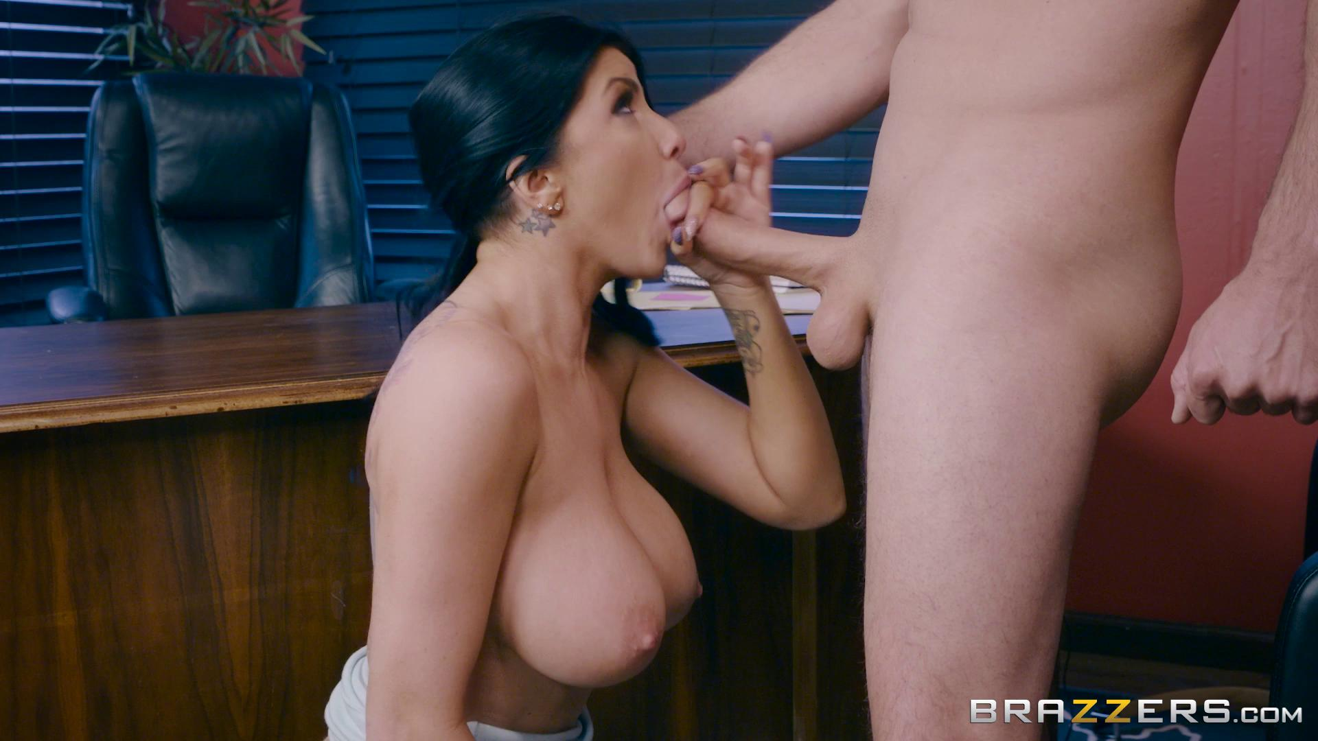 BigTitsAtWork – Romi Rain Anal Audit