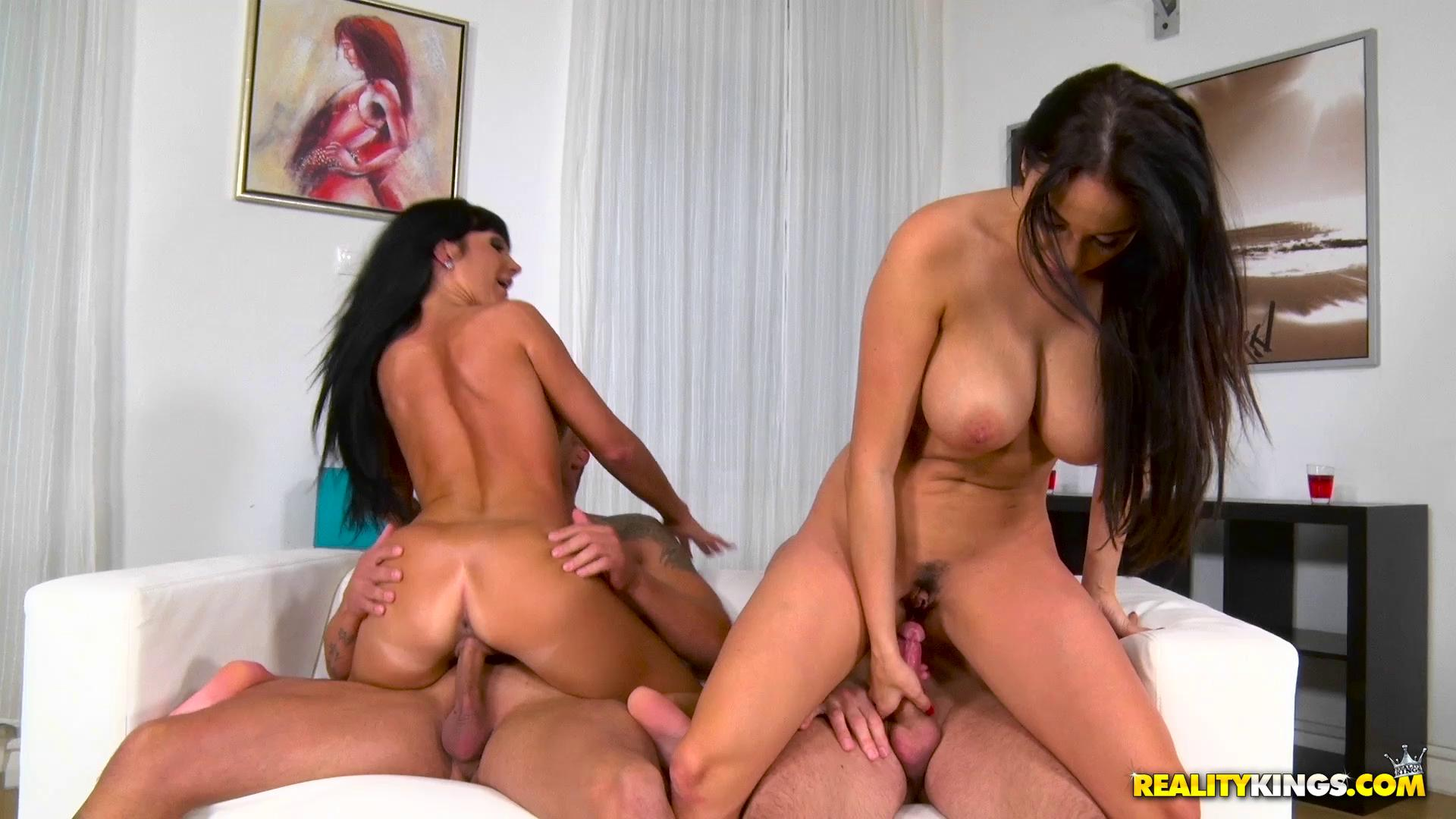 EuroSexParties – Anissa Kate And Valentina Ricci Pussy On Fire