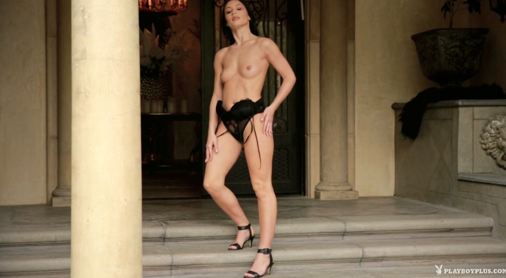 PlayboyPlus – Kendra Cantara Front Door Strip